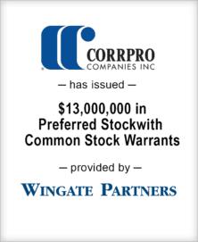 Image for BGL Advises Corrpro Companies, Inc. – Wingate Partners Transaction