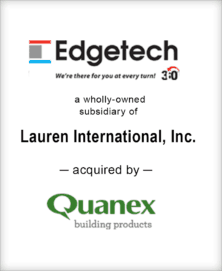Image for BGL Completes the Sale of Edgetech I.G. to Quanex Building Products Press Release