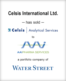 Image for BGL Completes the Sale of Celsis Analytical Services to AAIPharma Press Release