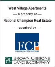 Image for BGL Real Estate Advisors Completes Recapitalization of West Village Expansion in Durham, NC Press Release