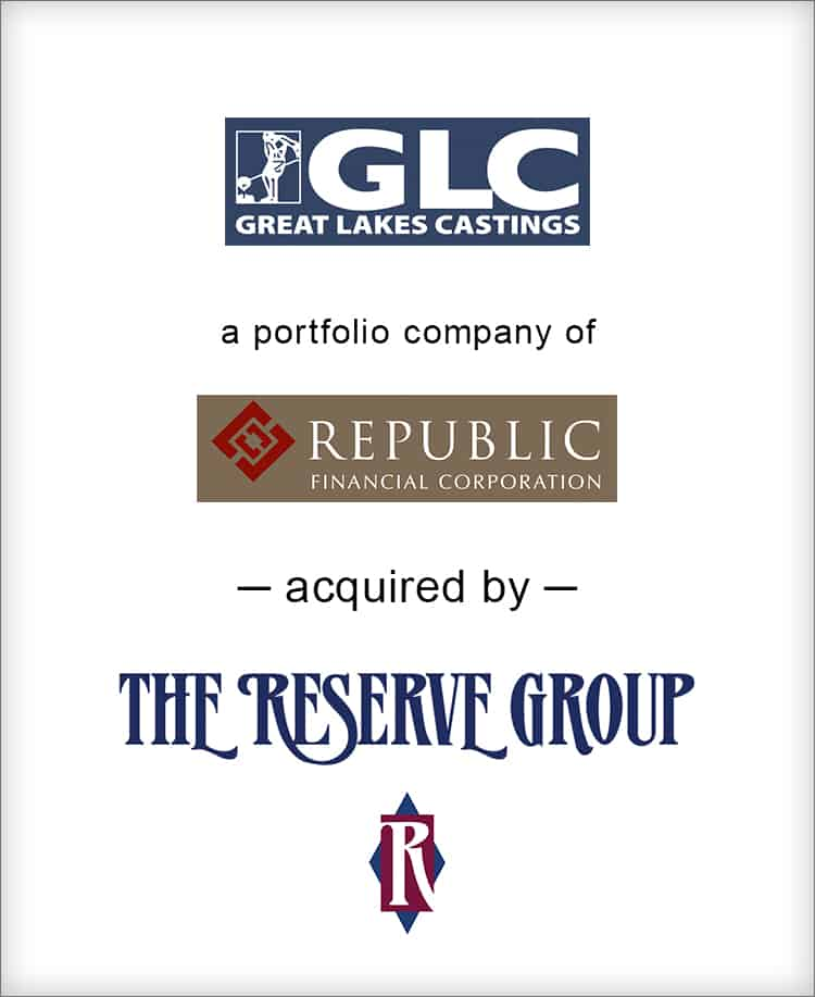 Image for BGL's Metals Practice Completes the Sale of Great Lakes Castings Press Release