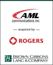 Image for BGL Completes the Sale of AML Communications Press Release
