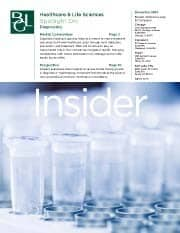 Image for BGL Healthcare & Life Sciences Insider – Diagnostics Get Smaller, Faster, and More Personal Research