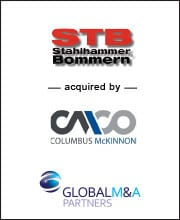 Image for BGL Announces Sale of Stahlhammer Bommern GmbH (STB) to Columbus McKinnon Corporation Press Release