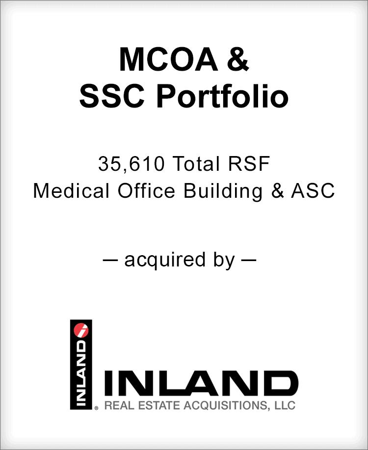 Image for BGL Advises MCOA & SSC Portfolio Transaction