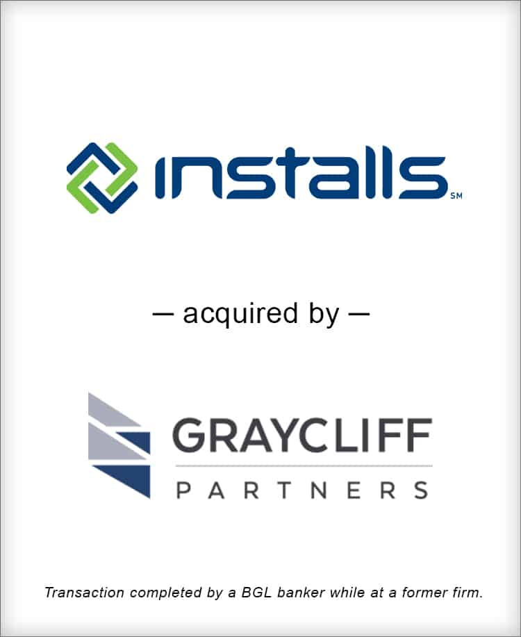 Image for Installs, Inc. LLC Acquired by Graycliff Partners Transaction