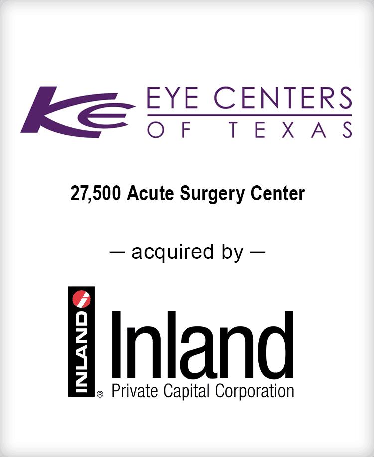 Image for BGL Advises Kleiman | Evangelista Eye Center Transaction
