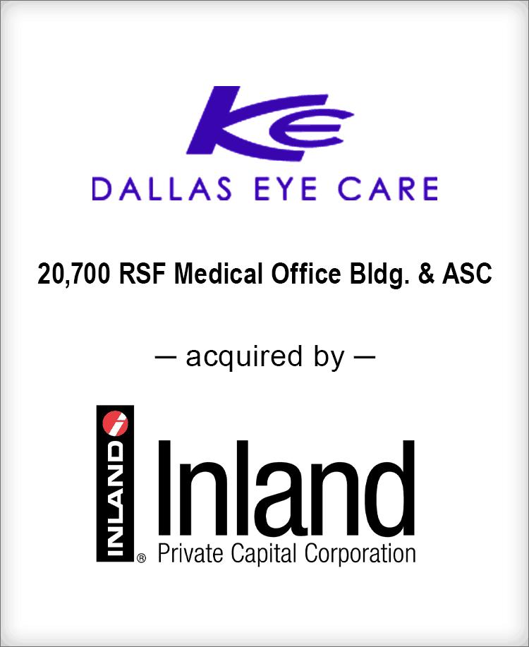 Image for BGL Real Estate Partners Announces the Sale of Dallas Eye Care Portfolio Press Release