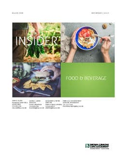 Image for BGL Consumer & Retail Insider – Buyers Come to the Table in Specialty Foods Research