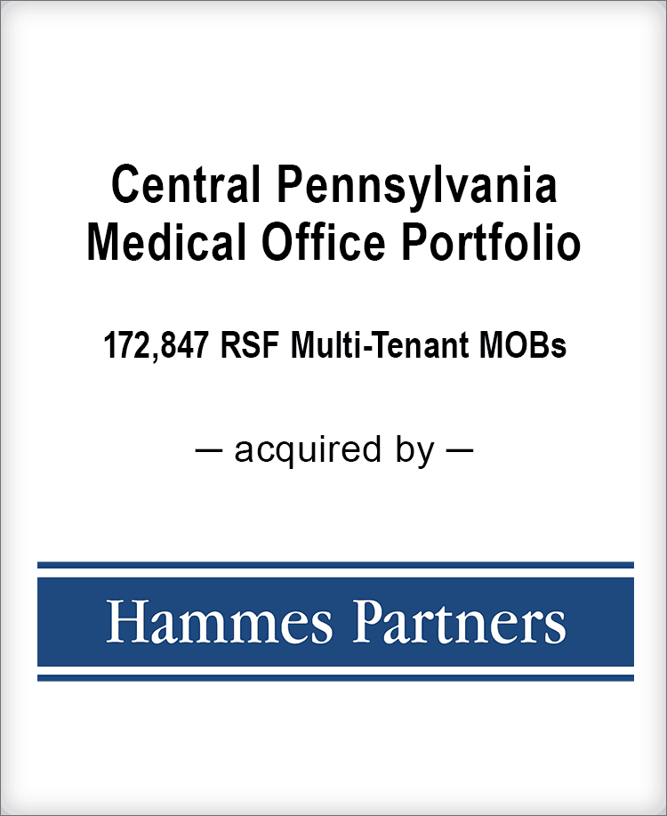 Image for BGL Real Estate Partners Announces the Sale of a Central Pennsylvania Medical Office Portfolio Press Release