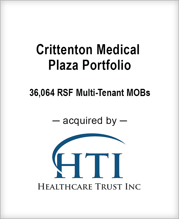 Image for BGL Advises Crittenton Medical Plaza Transaction