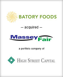 Image for BGL Advises Batory Foods, Inc. Transaction
