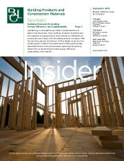 Image for BGL Building Products and Construction Materials Insider – It Pays to be Green Research