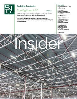 Image for BGL Building Products Insider – LED Lighting the Way Research