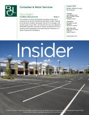 Image for Consumer Products & Retail Services Insider – Spotlight on Facilities Management Research