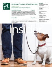 Image for BGL Consumer Products & Retail Services Insider – Pampered Pets Feed a Growing Industry Research