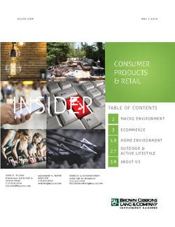 Image for BGL Consumer Products & Retail Insider – Sentiment, Spending Bolster Consumer Market Research