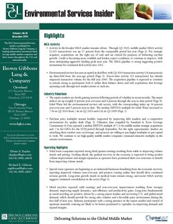 Image for BGL Environmental Services – November 2010 Research