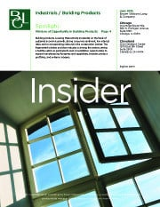 Image for BGL Industrials Insider – Window of Opportunity in Building Products Research