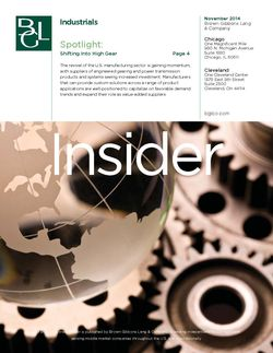 Image for BGL Industrials Insider – Shifting Into High Gear Research