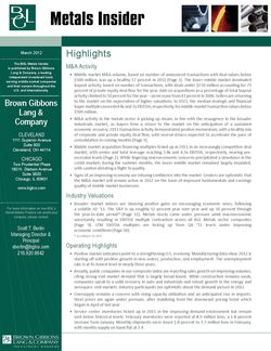 Image for BGL Metals Insider Research
