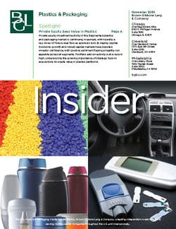 Image for BGL Plastics & Packaging Insider – Private Equity Sees Value in Plastics Research