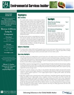 Image for BGL Environmental Services Insider – Spotlight on Waste Recovery Research