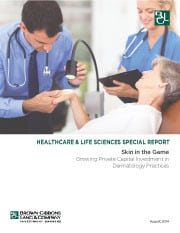 Image for BGL Healthcare & Life Sciences Special Report – Dermatology Practices Research
