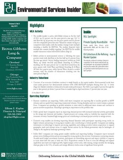 Image for BGL Environmental Services Insider – Spotlight on Used Oil Collections Research
