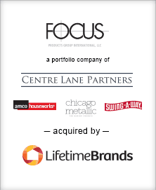 Image for BGL Announces Sale of the Kitchen Division of Focus Products Group to Lifetime Brands Press Release