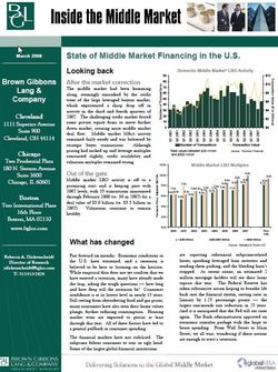 Image for BGL Special Report – Weathering the Storm: Can the Middle Market Prove its Resilience? Research