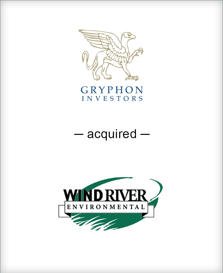 Image for BGL Advises Gryphon Investors on Majority Investment in Wind River Environmental Press Release