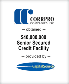 Image for BGL Advises Corrpro Companies, Inc. – Capital Source Transaction