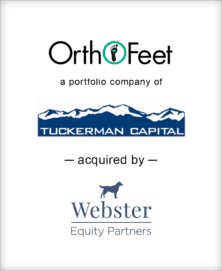 Image for BGL Announces the Sale of OrthoFeet to Webster Equity Partners Press Release