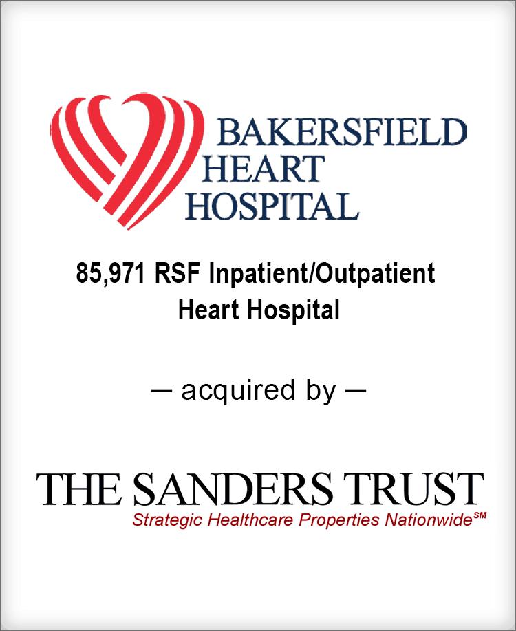 Image for BGL Advises Bakersfield Heart Hospital Transaction
