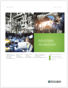 Image for BGL Industrials Insider – Industrial Technology Drives Growth and M&A in Manufacturing Research