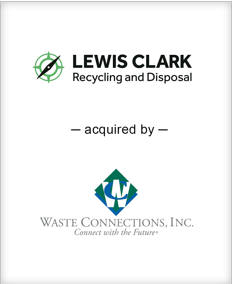 Image for BGL Announces the Sale of Lewis Clark Recycling & Disposal Press Release