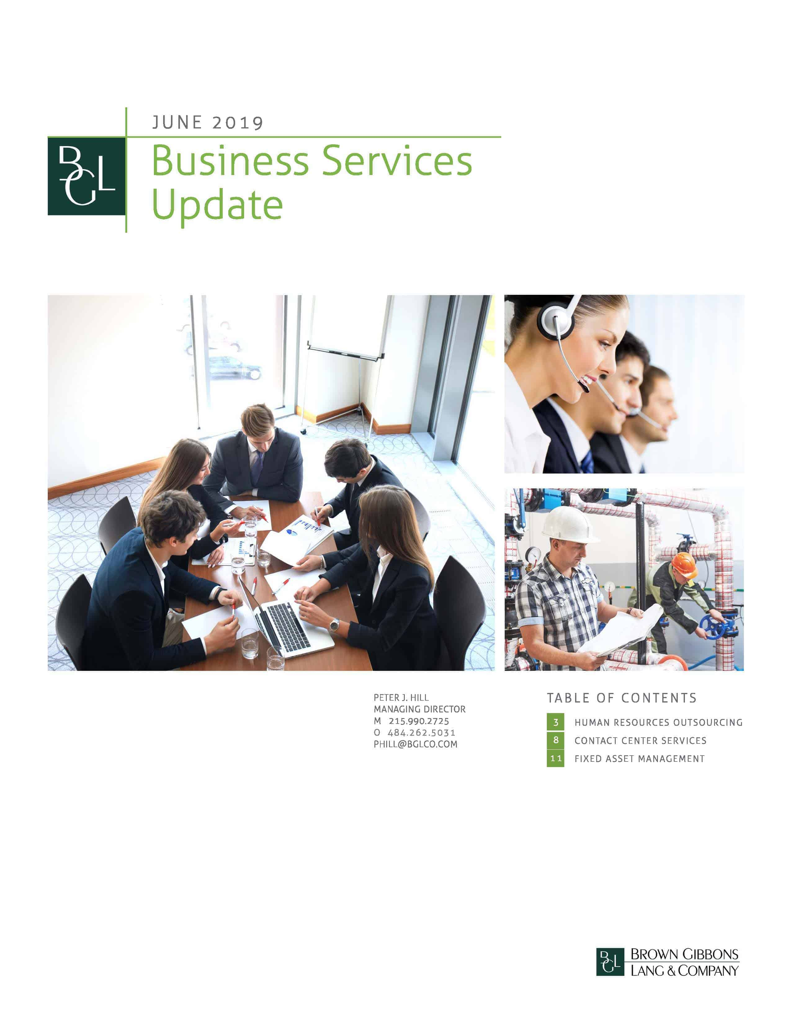 Image for BGL Business Services Update – June 2019 Research