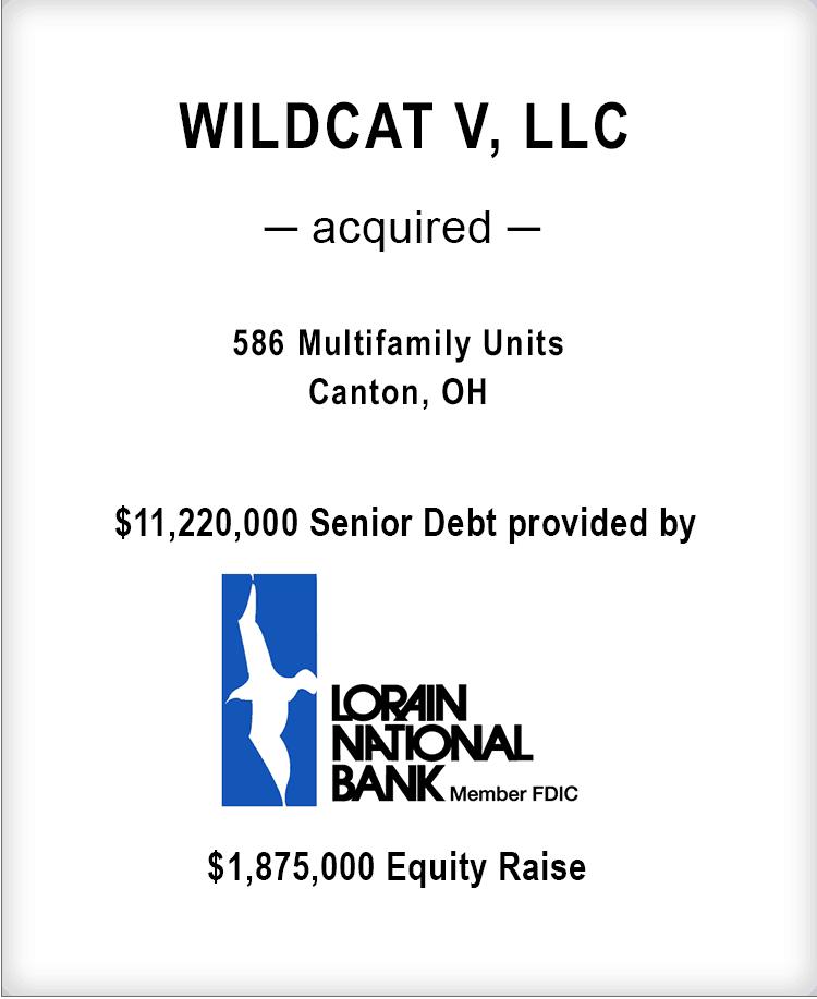 Image for WILDCAT V, LLC Transaction