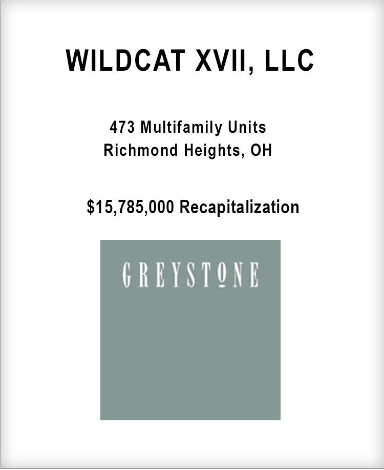 Image for WILDCAT XVII, LLC Transaction