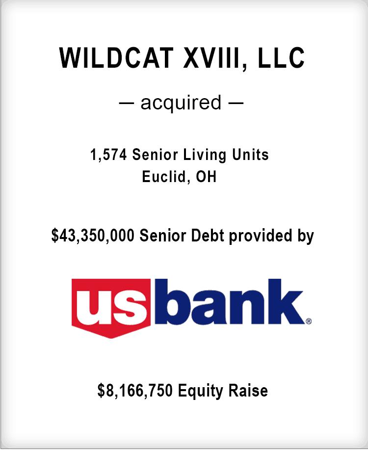 Image for WILDCAT XVIII, LLC Transaction