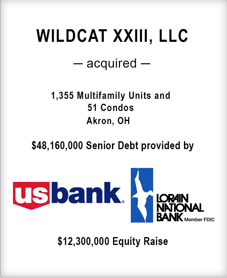 Image for WILDCAT XXIII, LLC Transaction