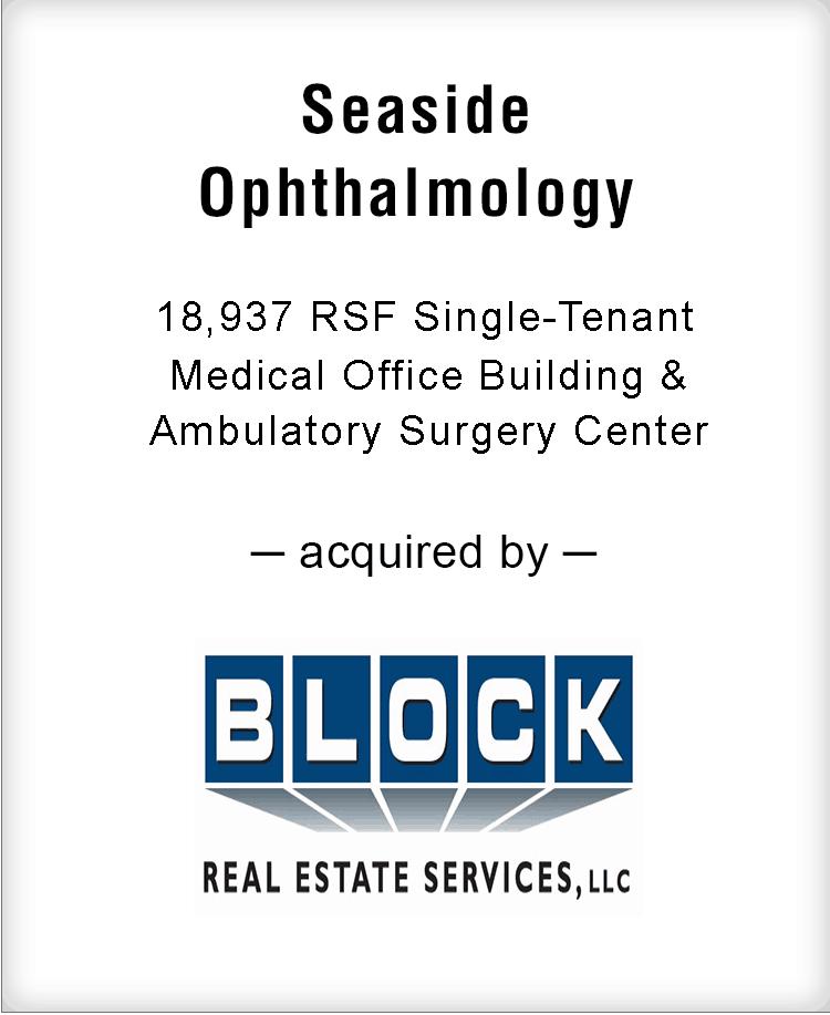 Image for BGL Advises Seaside Ophthalmology Transaction