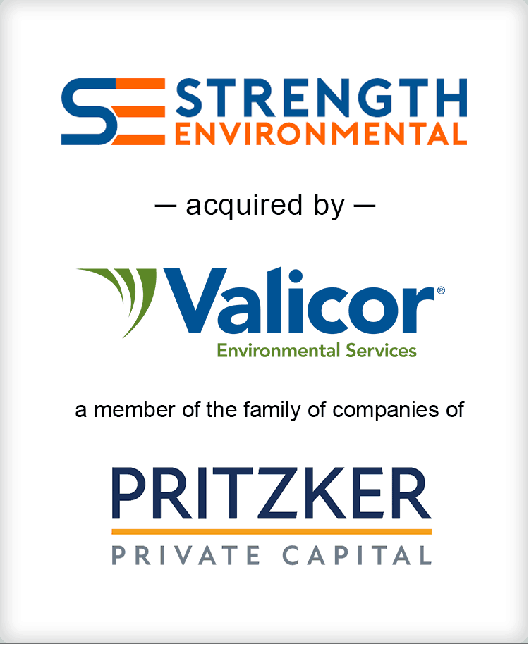 Image for BGL Announces the Sale of Strength Environmental to Valicor Environmental Services Press Release