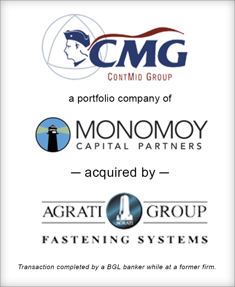 Image for CMG ContMid Group Acquired by Agrati Group Fastening Systems Transaction