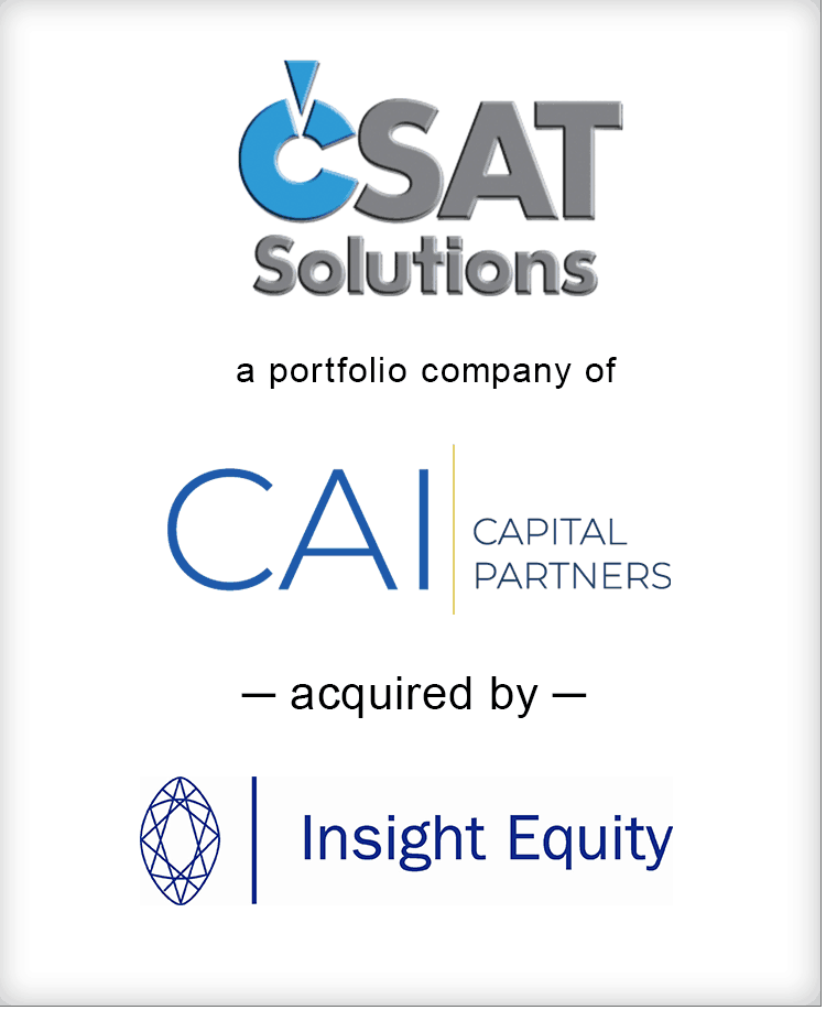 Image for BGL Announces the Sale of CSAT Solutions to Insight Equity Press Release
