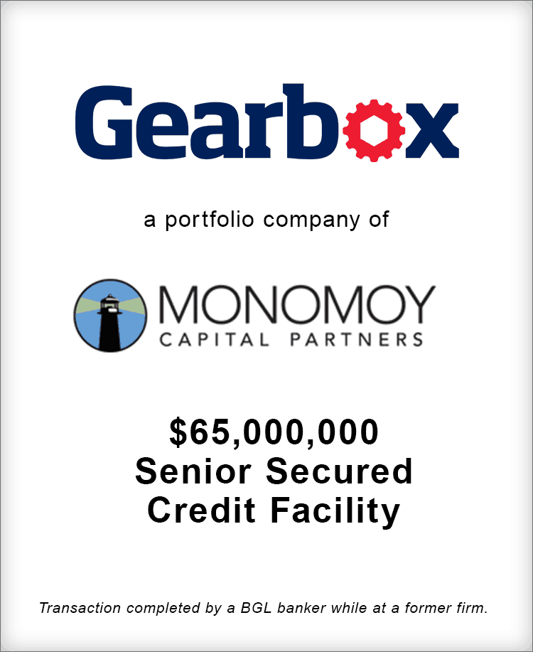 Image for Gearbox Senior Secured Credit Facility Transaction