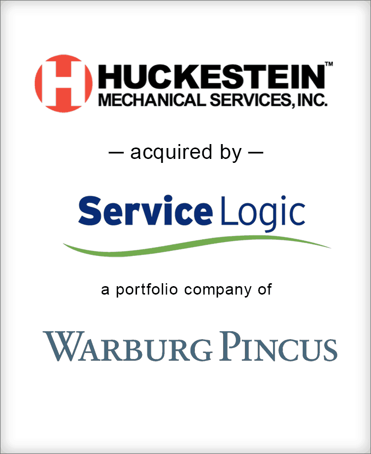 Image for BGL Announces the Sale of Huckestein Mechanical Services to Service Logic, a portfolio company of Warburg Pincus Press Release