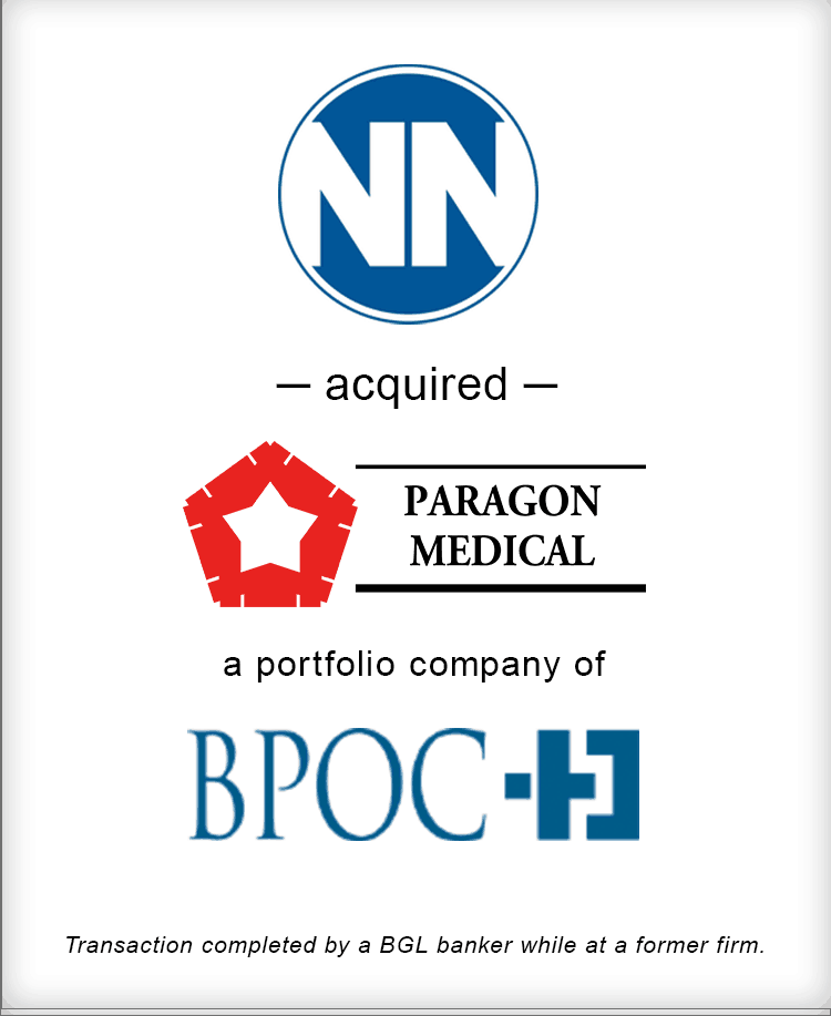 Image for NN, Inc. Acquired Paragon Medical Transaction