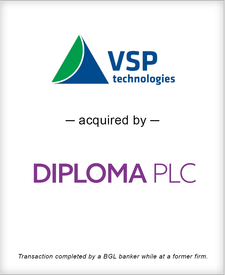 Image for VSP Technologies Acquired by Diploma PLC Transaction